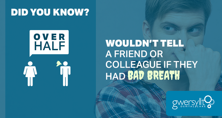 Over half of people wouldn't tell a friend or colleague…