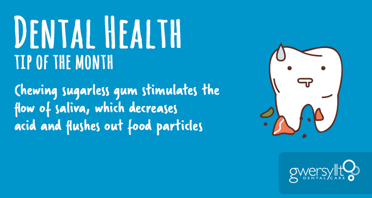 Dental Health Tip of the Month – August