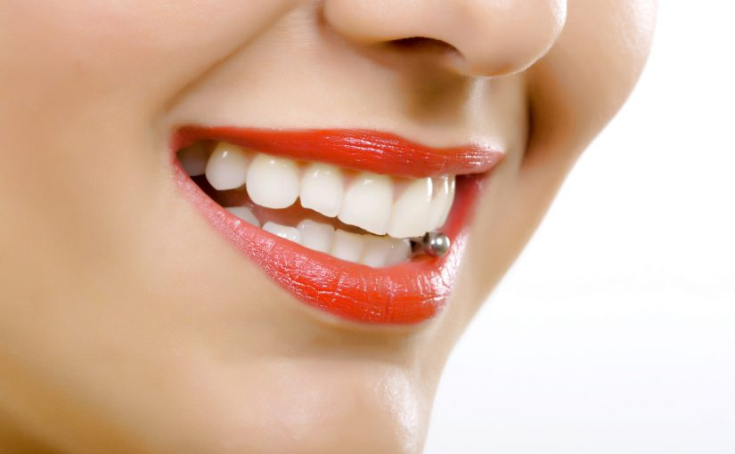 Could tongue piercings harm your teeth?